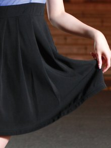他の写真3: 【ERUKEI】パフスリーブ・バイカラー・ミニドレス・ワンピース
