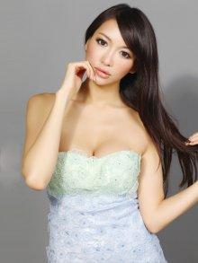 他の写真2: 【ERUKEI】バイカラー・フラワーレース・ミニドレス・ワンピース