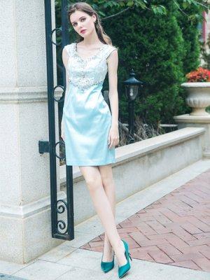 画像5: 【Glitter 】ブルー・ピンク・ミニドレス・ワンピース