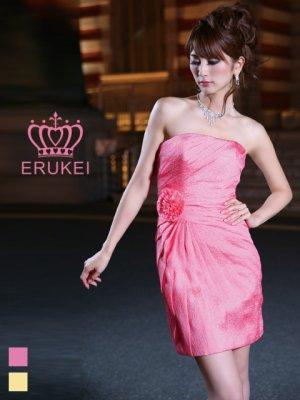 画像1: [SALE品のため返品不可]【ERUKEI】ベア・コサージュ・ミニドレス・ワンピース