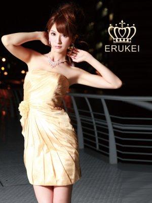 画像2: [SALE品のため返品不可]【ERUKEI】ベア・コサージュ・ミニドレス・ワンピース