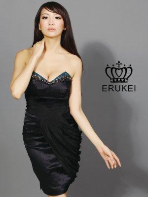 画像2: 【ERUKEI】ベア・シンプル・ミニドレス・ワンピース